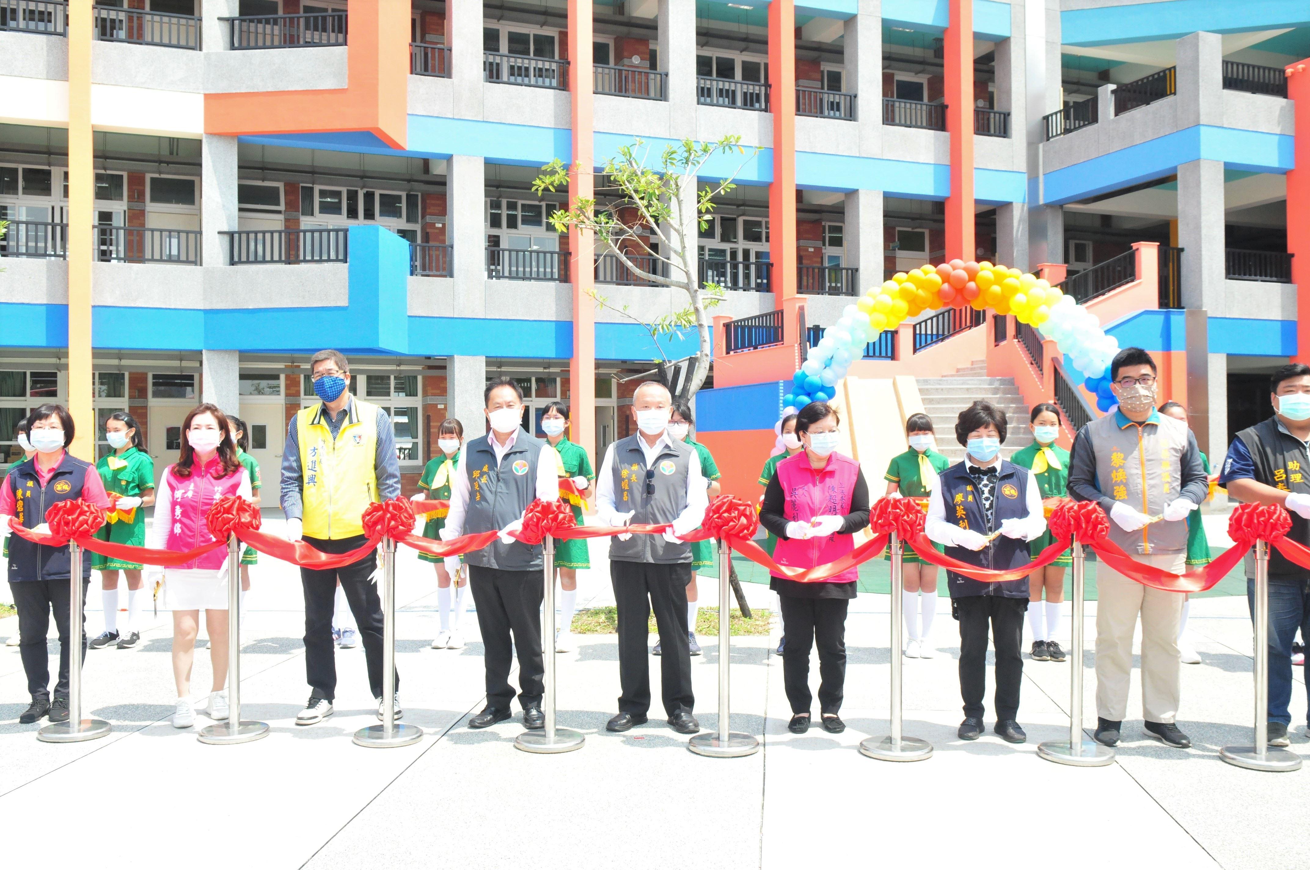 照南國小「西北棟校舍」落成啟用 提供學子優質學習環境