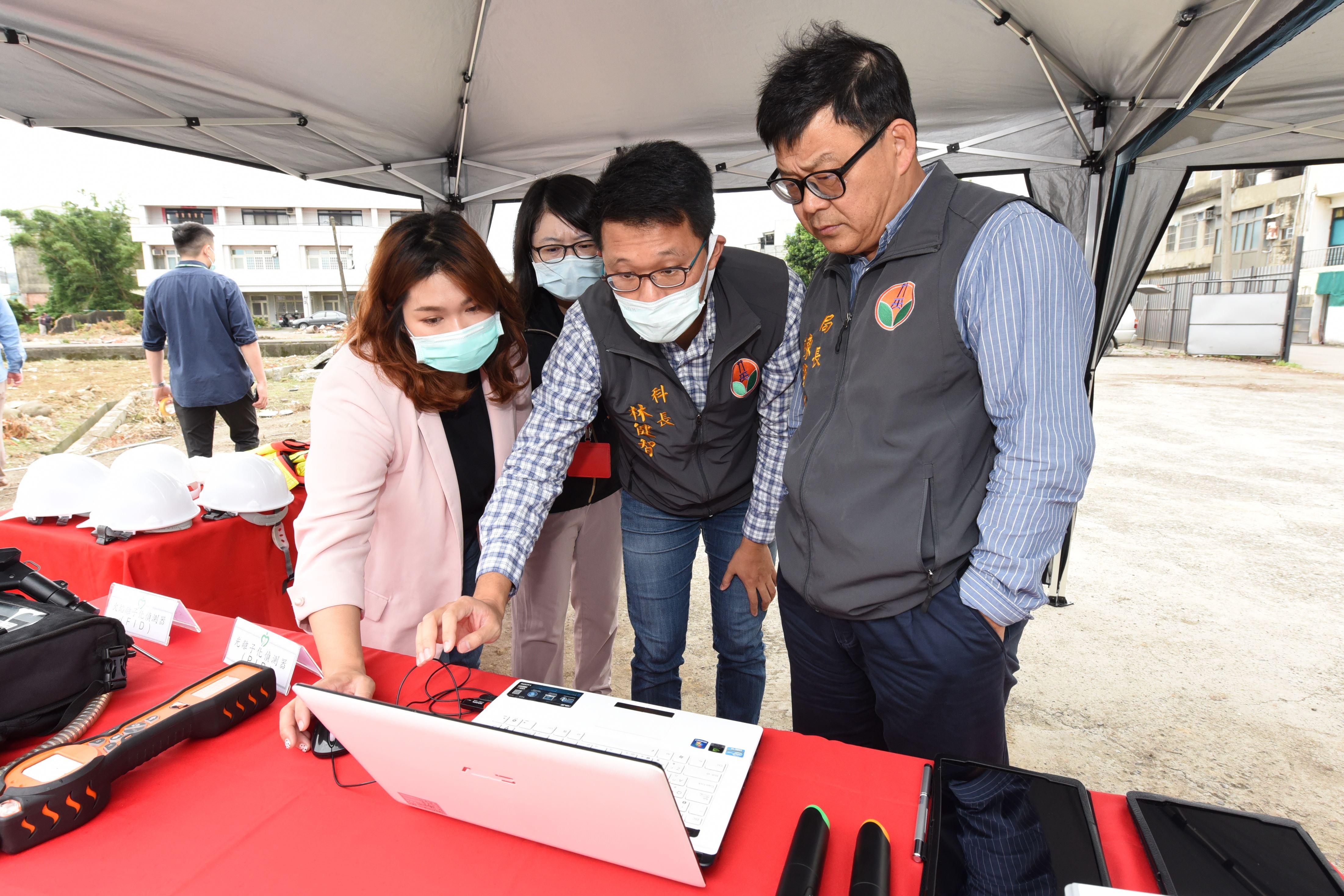 建置500個空品微型感測器 偵測空汙來源並及時發現瓦斯外洩