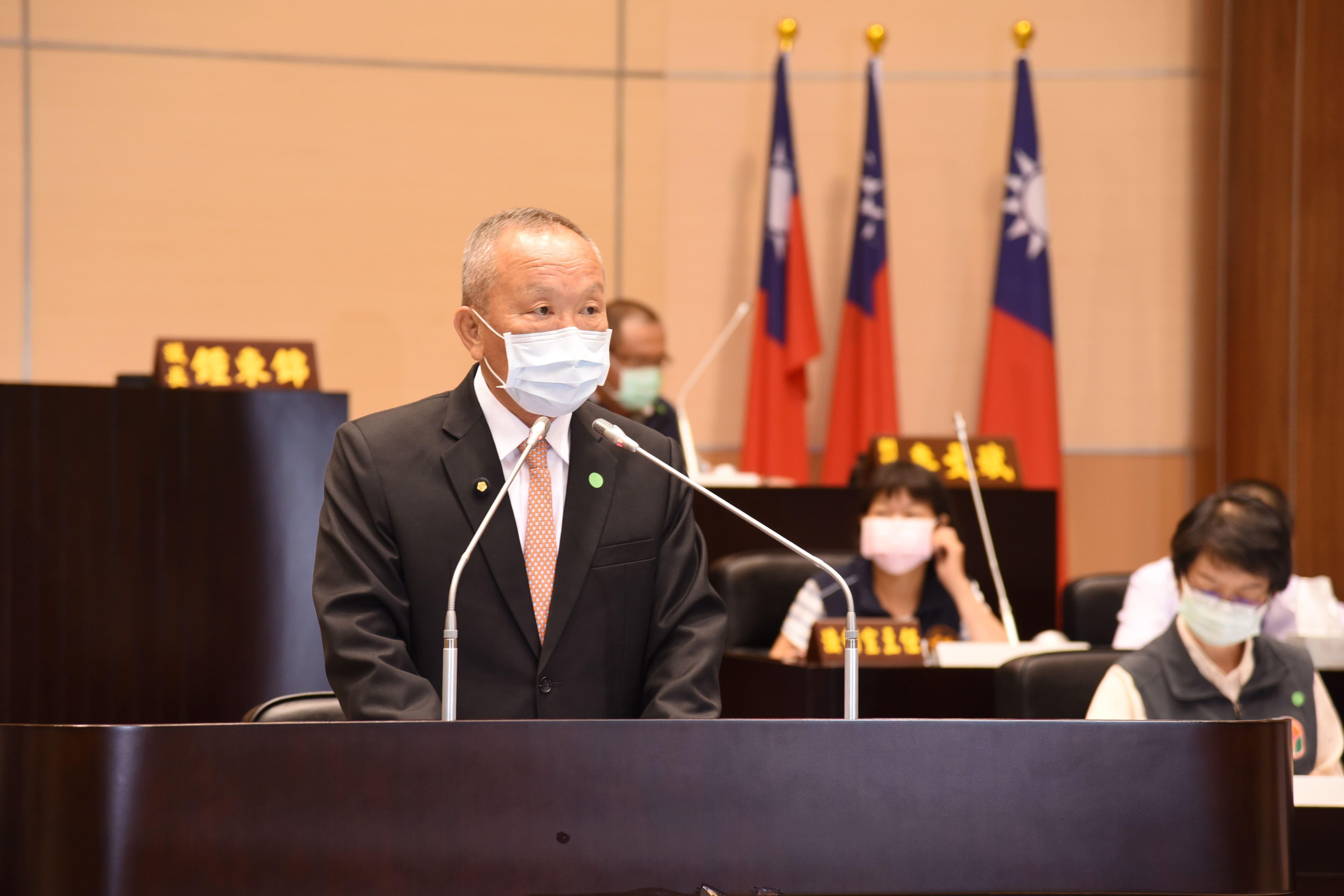 縣議會定期會開議 縣長徐耀昌施政總報告涵蓋10大重要施政