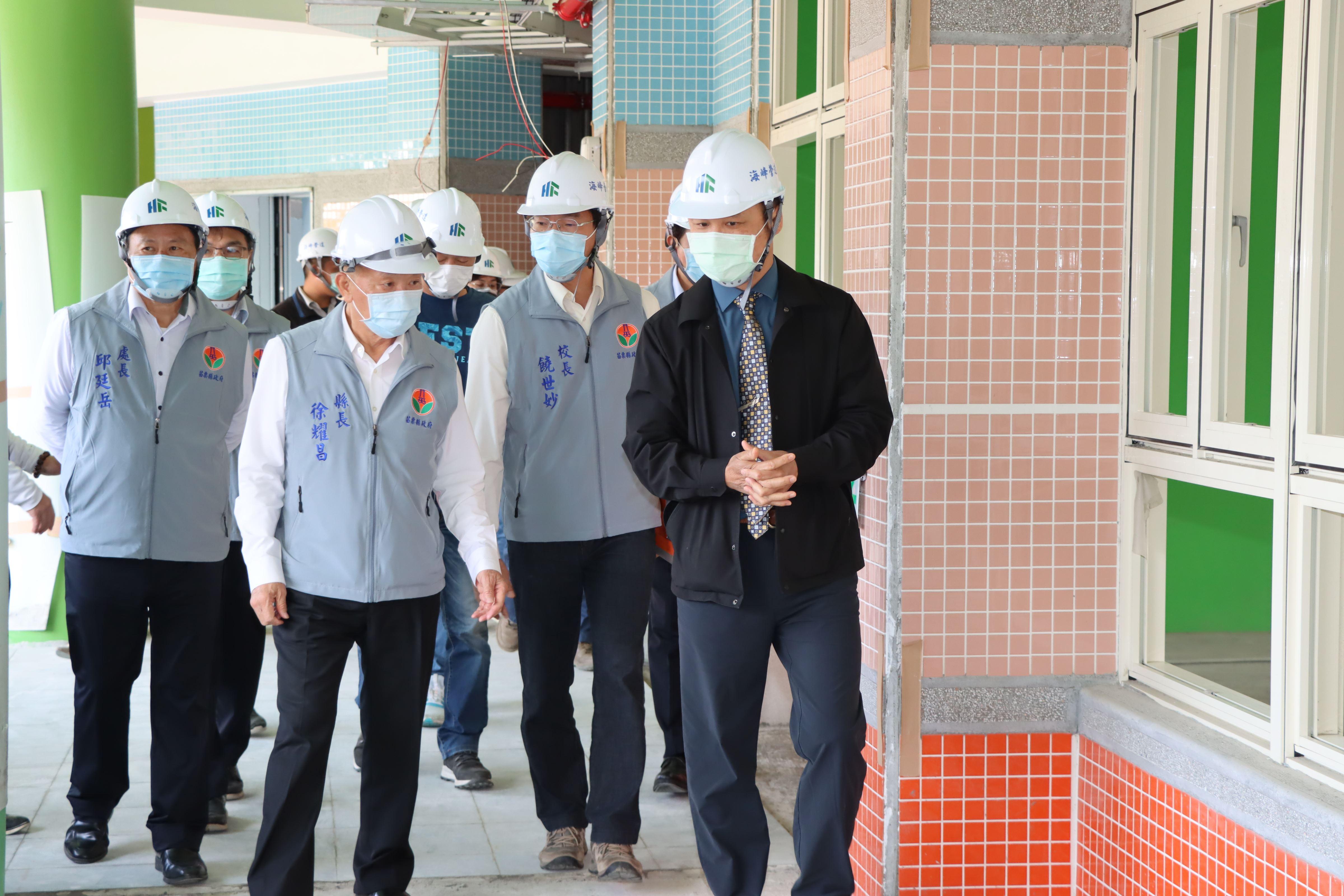 頭份市六合國小非營利幼兒園新建工程進度超前