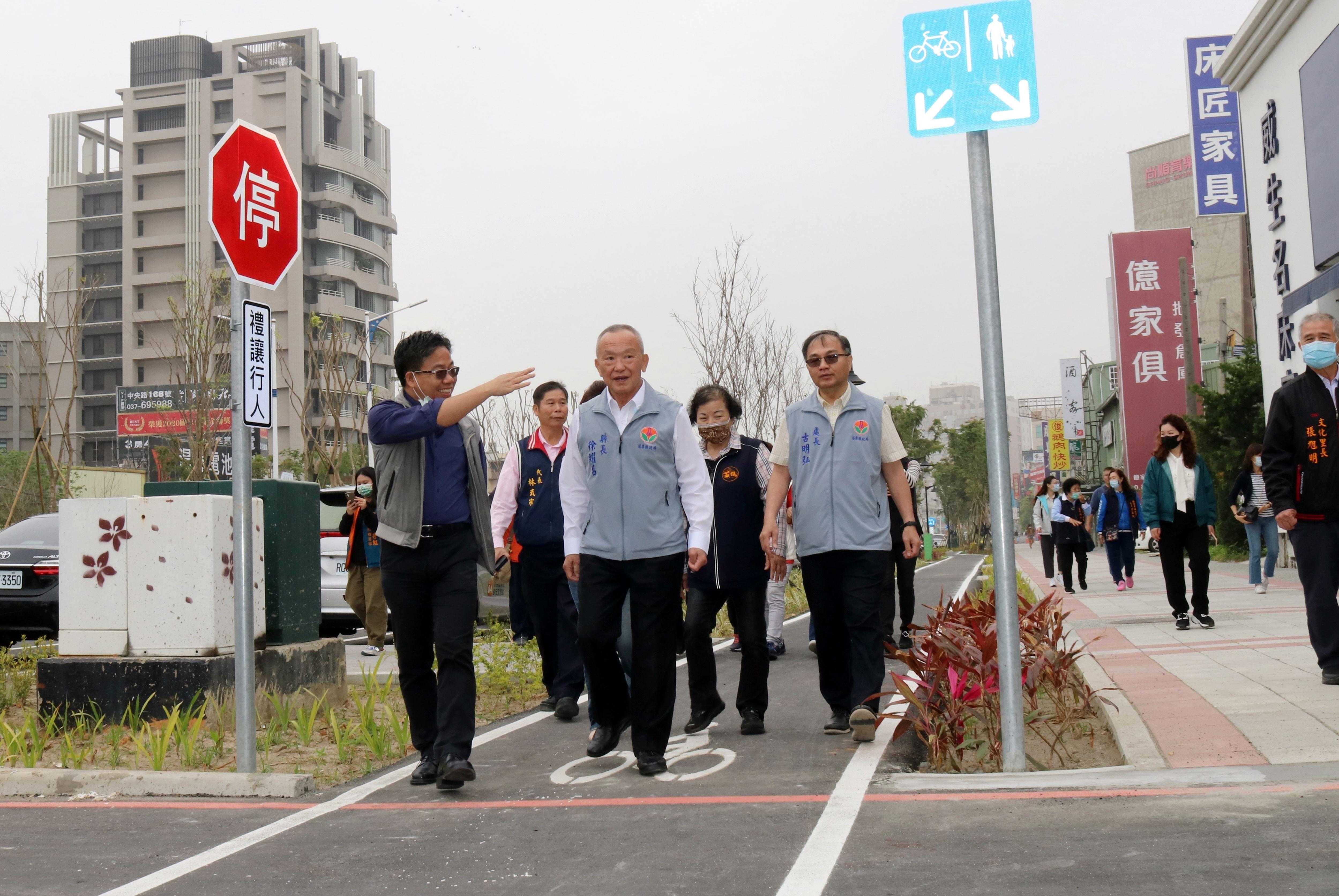 3.4億打造慢行綠網 苗北雙城市容景觀升級