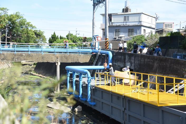 27D縣府-抽水工程收尾接近完工DSC_4707.JPG