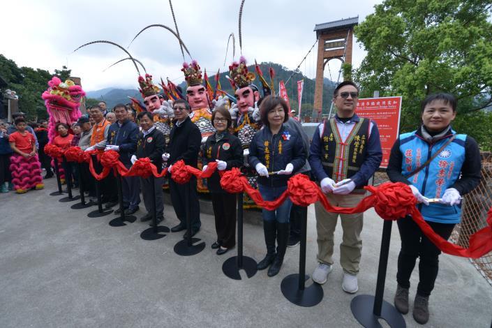南庄康濟吊橋修復啟用 中港溪兩岸經濟觀光大利多(共12張)