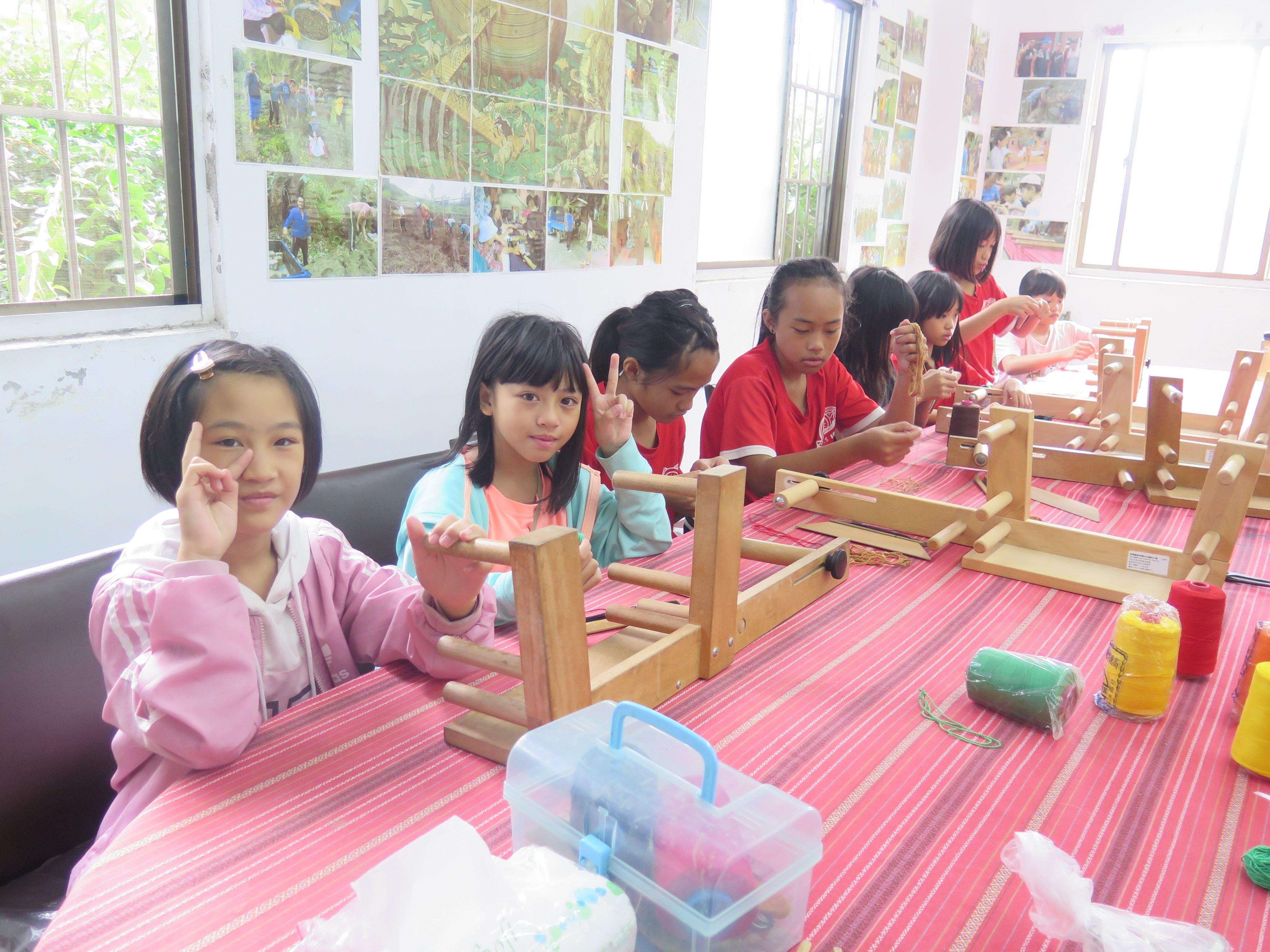 泰雅傳統技藝—織布課程