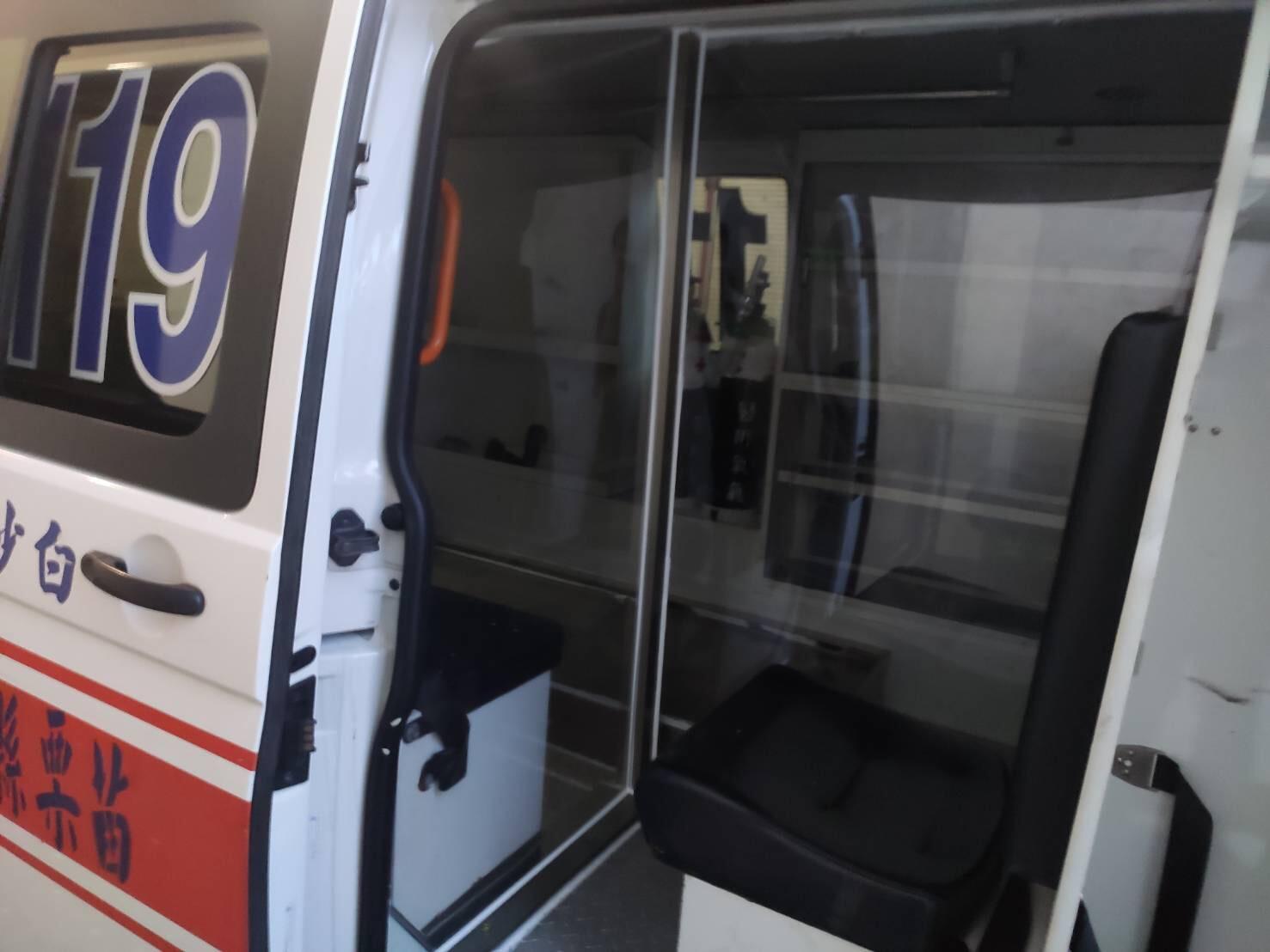 救護車分艙分流