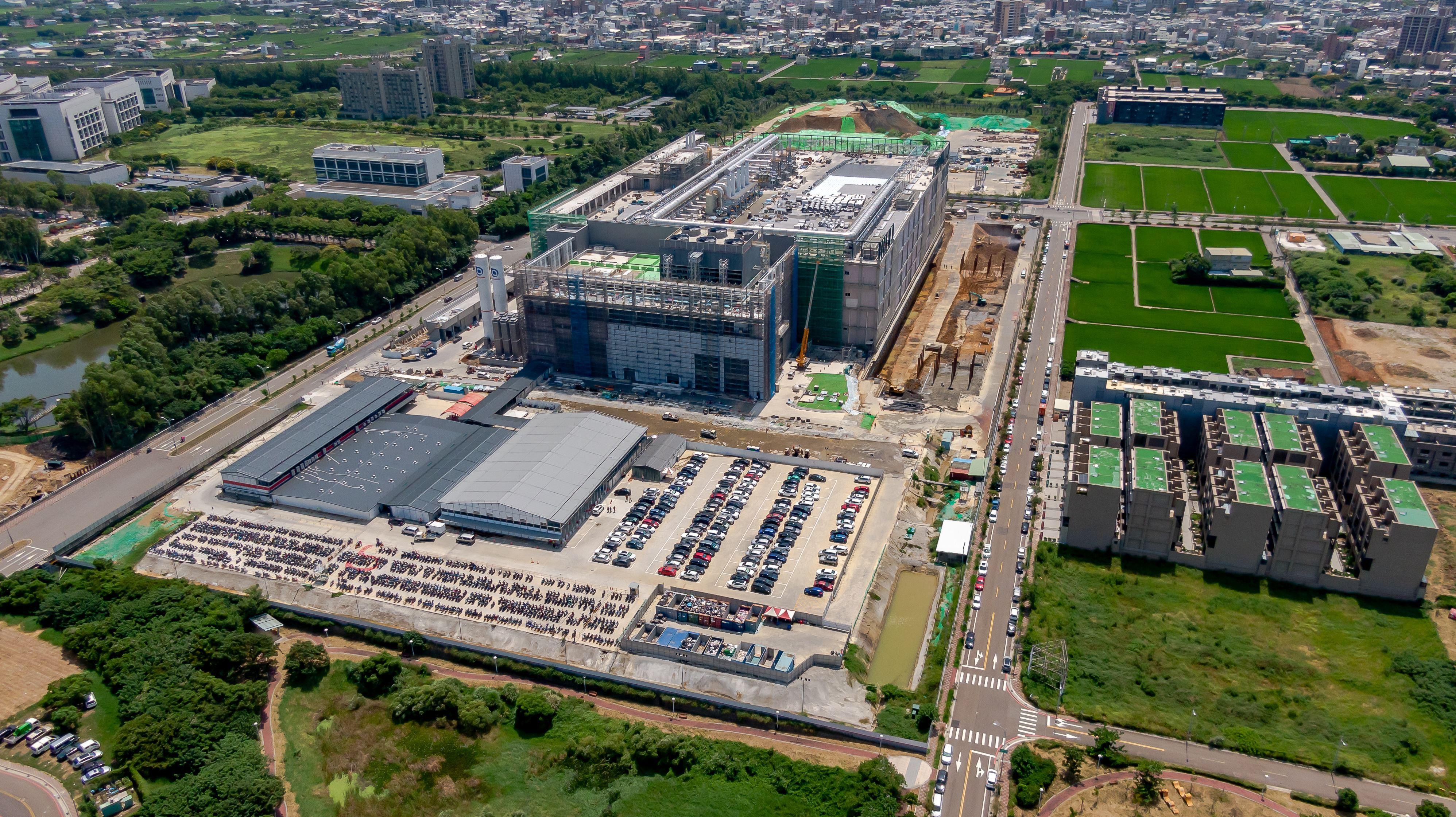 環保局運用無人機空拍  輔導管制台積電廠房新建工程