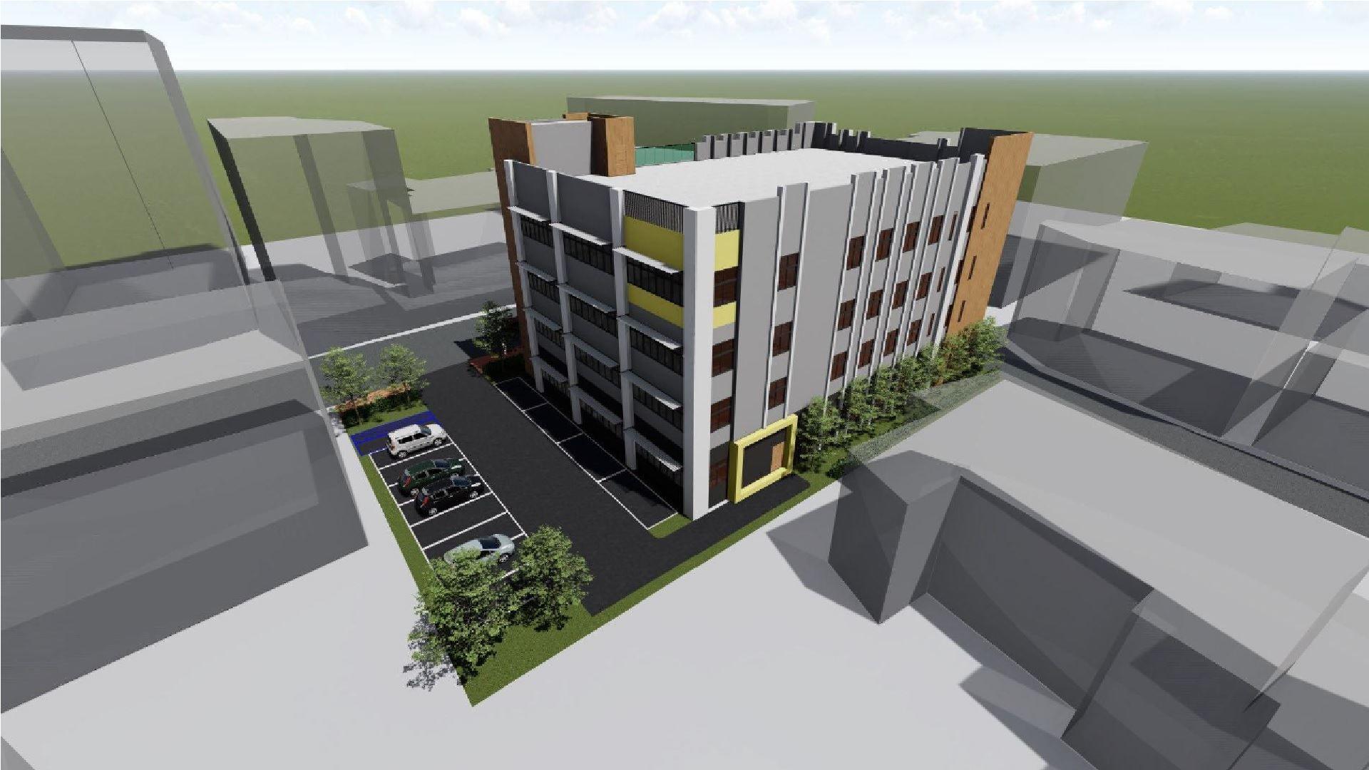 卓蘭鎮公所新建辦公廳舍立面圖之2