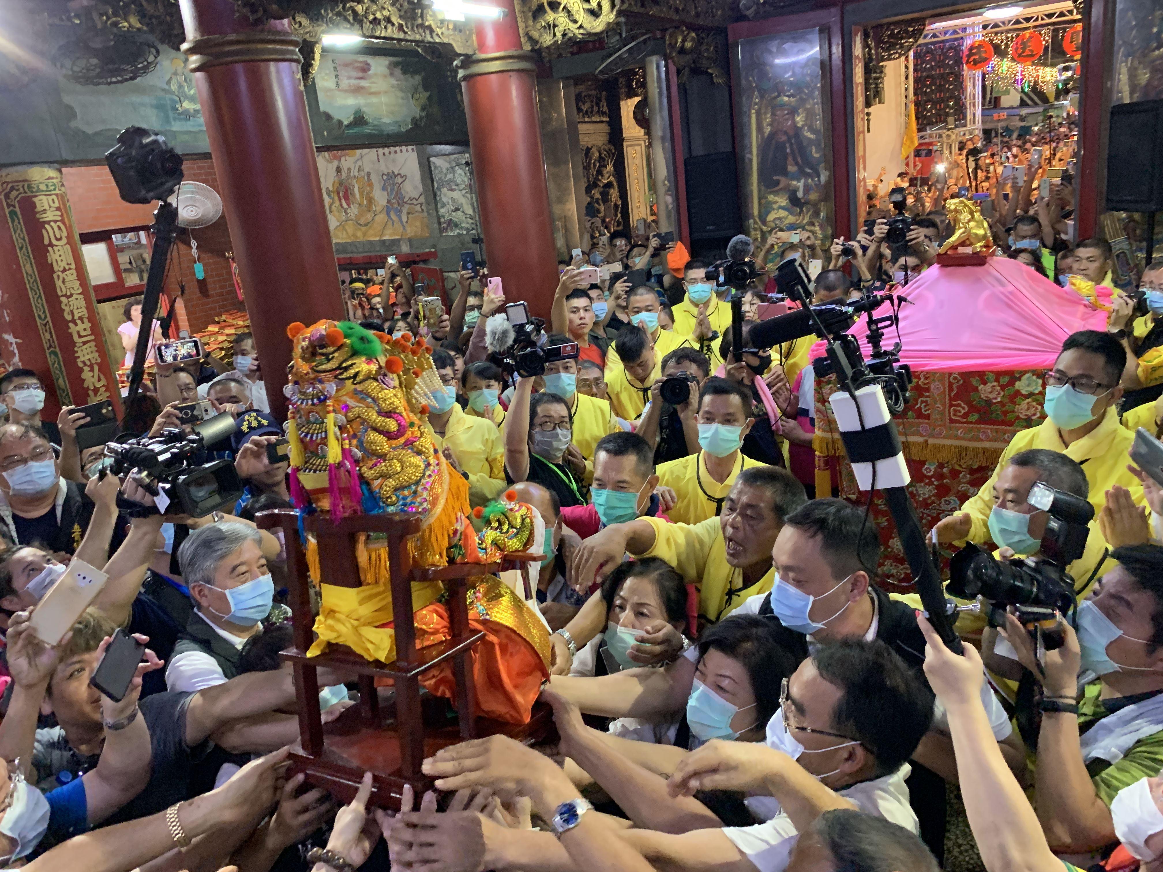 Baishatun Gongtian Temple Matsu Pilgrimage to Start July 5