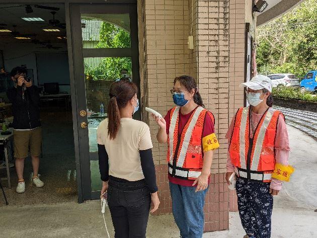收容班防疫措施與體溫過高收容者設置隔離區