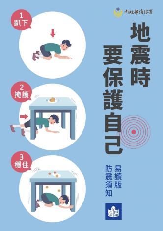 110年國家防災日地震防災網路宣導活動