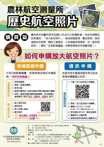 申購航空照片海報電子檔
