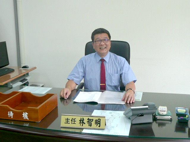 銅鑼地政事務所主任林智明