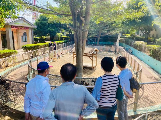 志工參訪台中市動物之家新聞稿照片