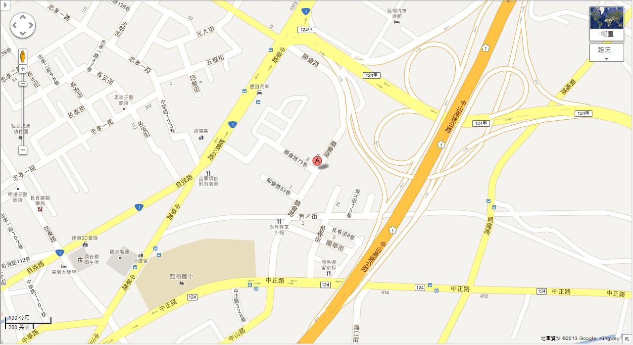 苗栗分站地圖