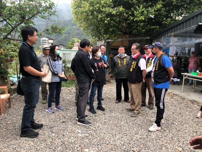孔文吉立法委員爭取本縣泰安鄉文化健康站內部及週邊工程
