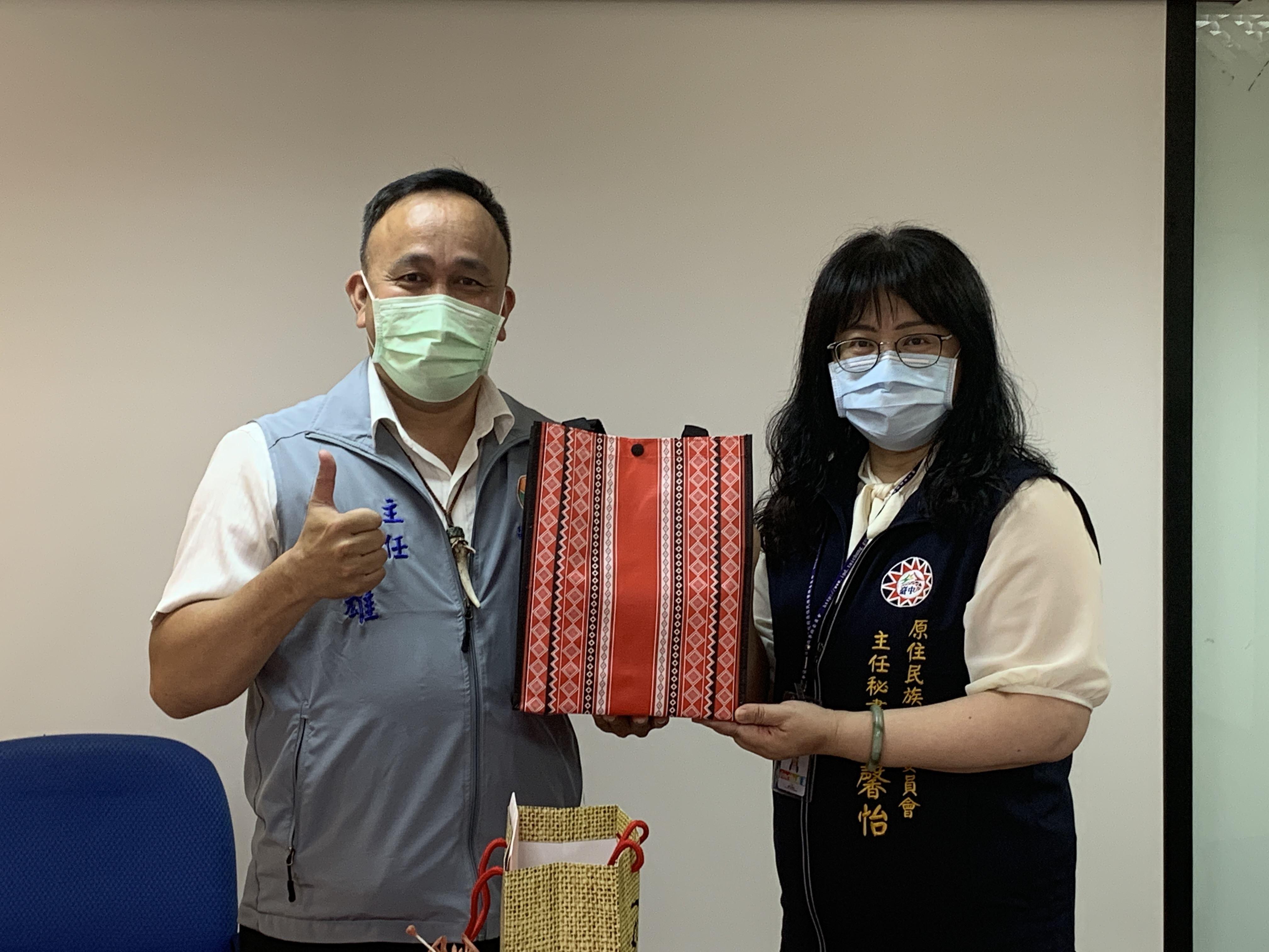 他山之石-苗栗原民中心參訪臺中原住民綜合服務中心