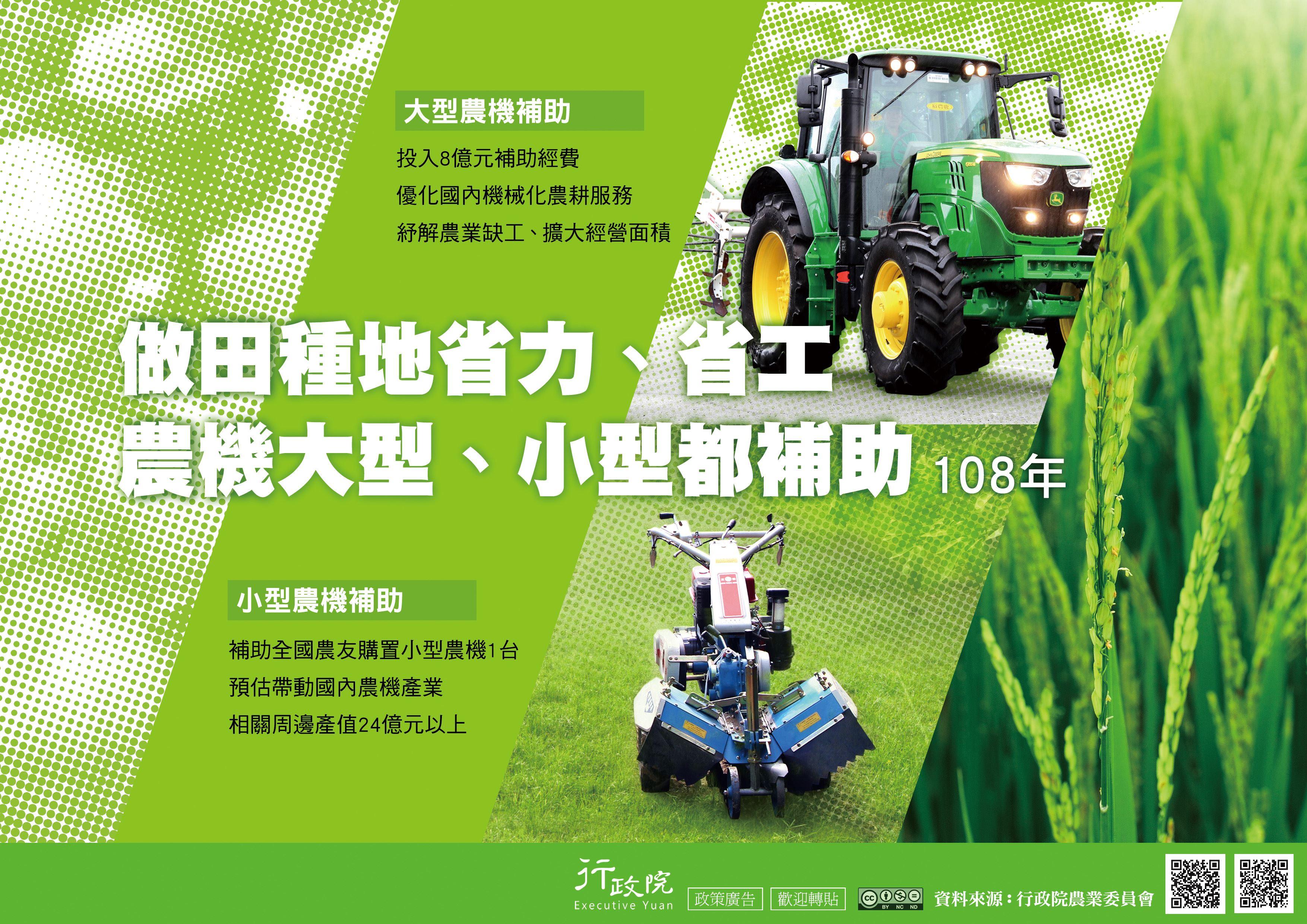 大小型農機具補助