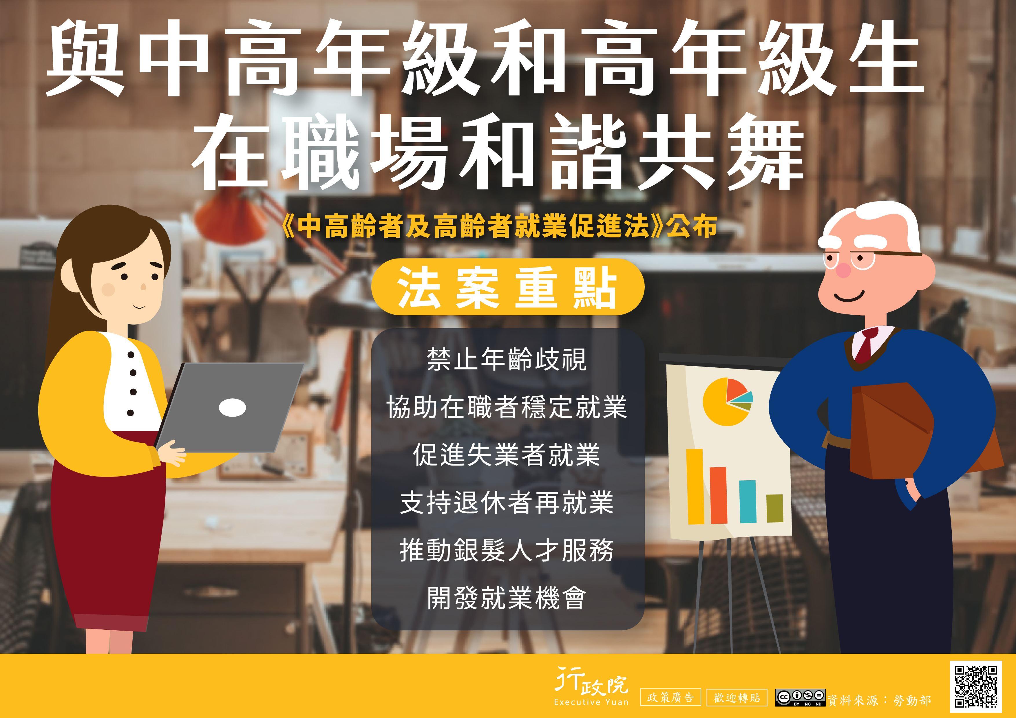 中高齡者及高齡促進就業法