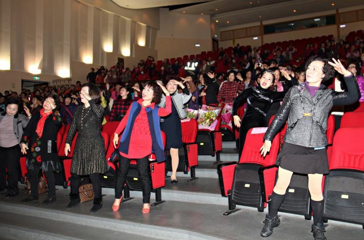 苗栗縣慶祝婦女節500多人同樂