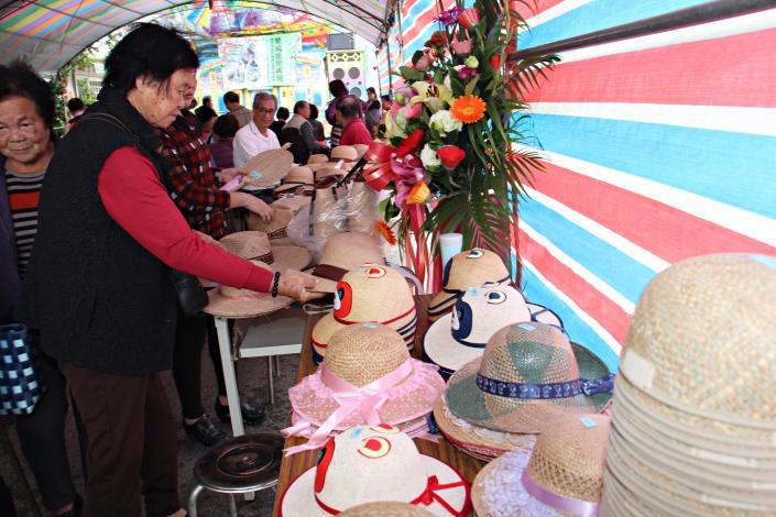 帽蓆編織業職業工會歡慶30周年成果展