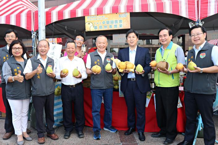 梨饗節結合農產展售台北站前商圈開鑼
