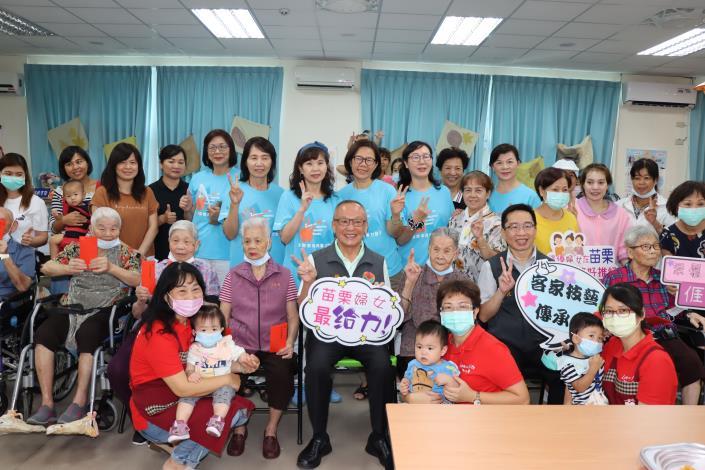 苗縣婦女福利服務中心舉辦月光餅製作活動
