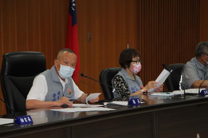 縣長加開縣務會議指示加強防疫工作