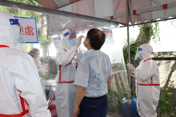 竹南、頭份工業區服務中心設立快篩站阻斷傳播鏈