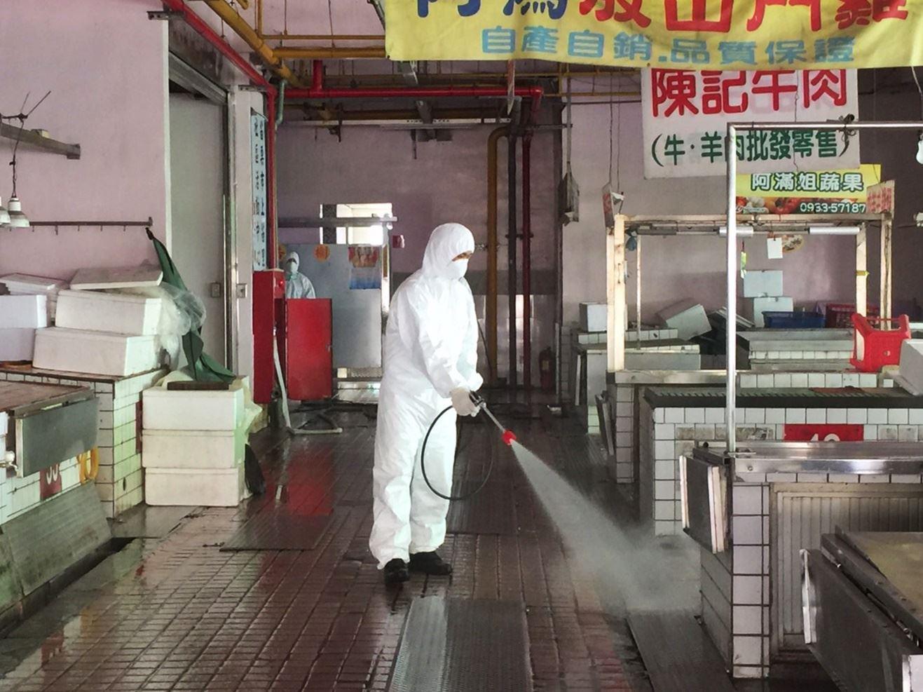 加強公共環境消毒工作,保障市民健康