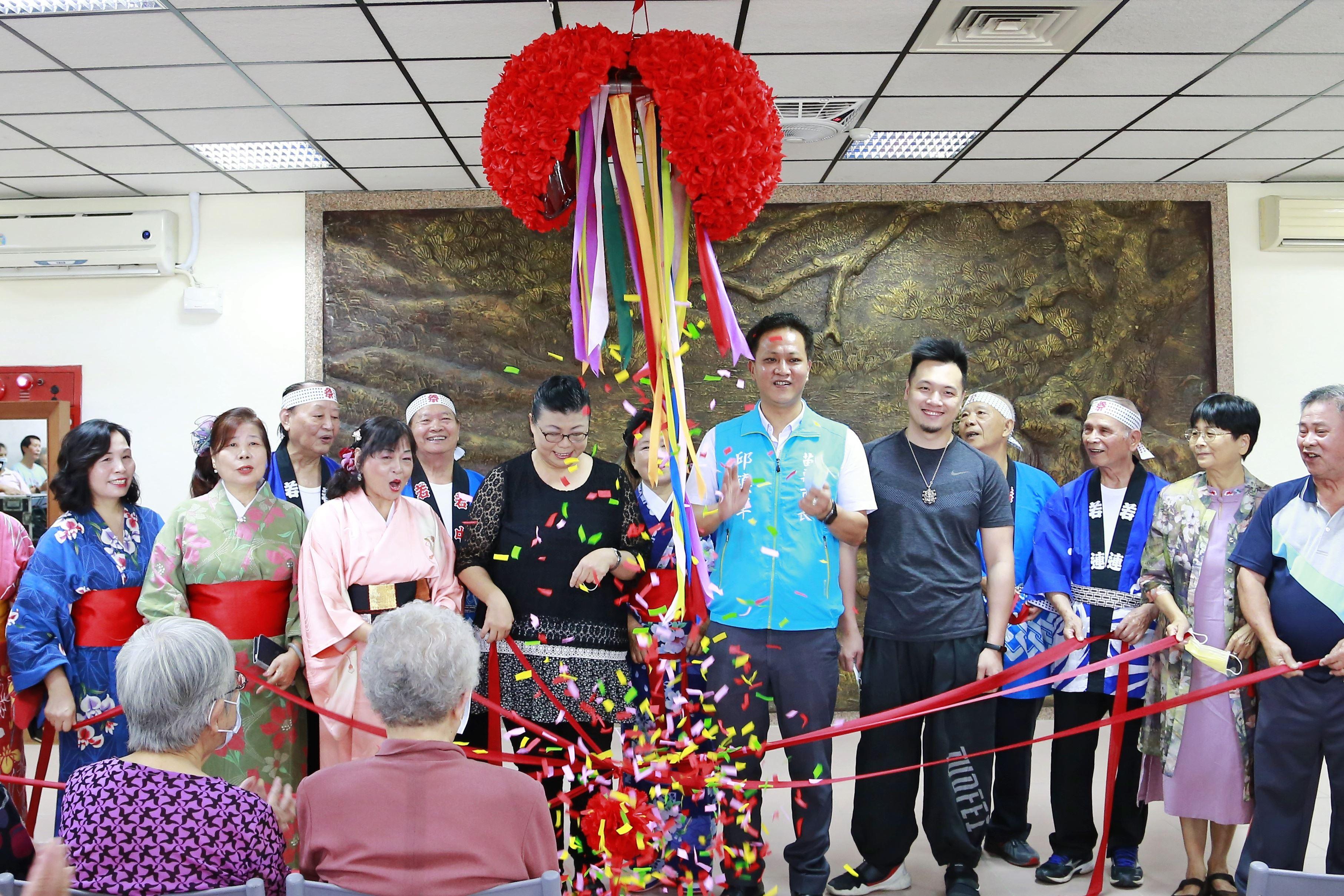 苗栗市「老人文康中心」重新開館囉,歡迎大家來坐聊!