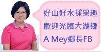 大湖鄉長Facebook
