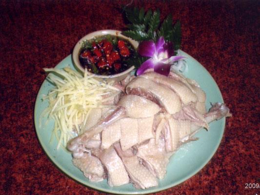 富春客家味雞肉照片