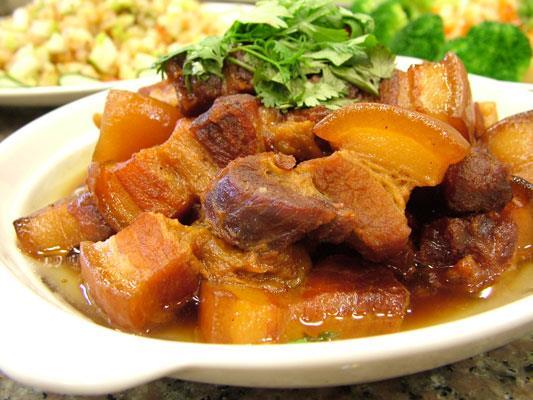 龍城客菜館五花肉