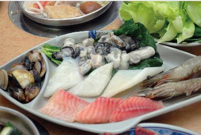 川綺日式迷你涮涮鍋海鮮料