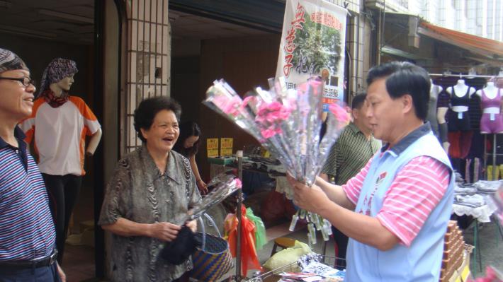 2012母親節致贈康乃馨合照