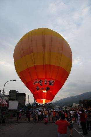 熱氣球昇空