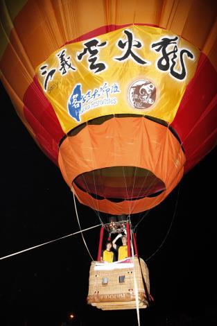 熱氣球昇空照片