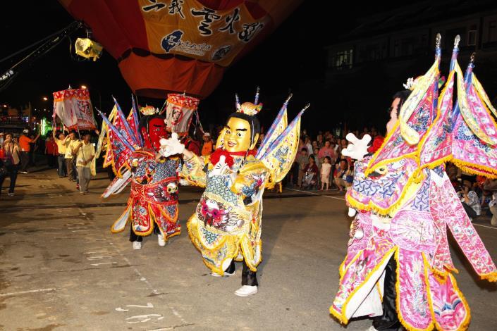 2012客庄12大節慶-三義雲火龍節開幕活動_踩街