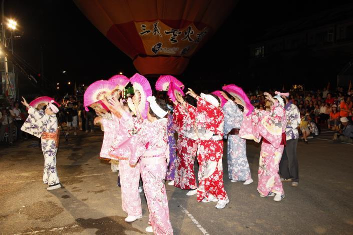2012客庄12大節慶-三義雲火龍節開幕活動_創意踩街活動