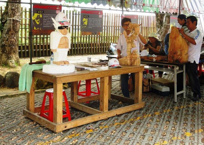 2012三義國際木雕節開幕照片