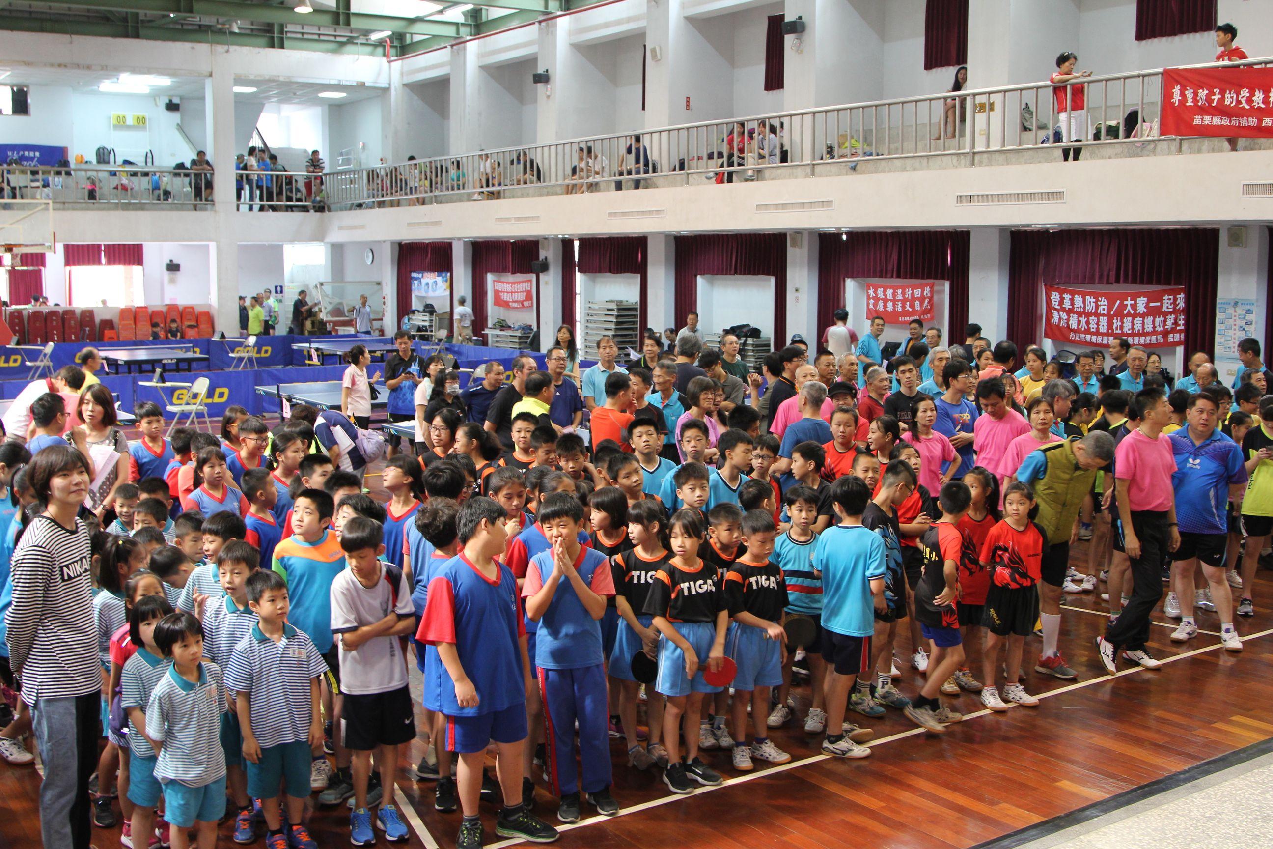 108年西湖鄉第12屆主席盃桌球錦標賽