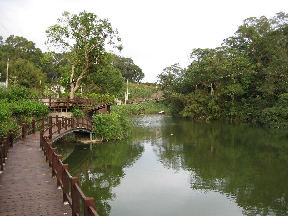 三灣鄉步道景觀