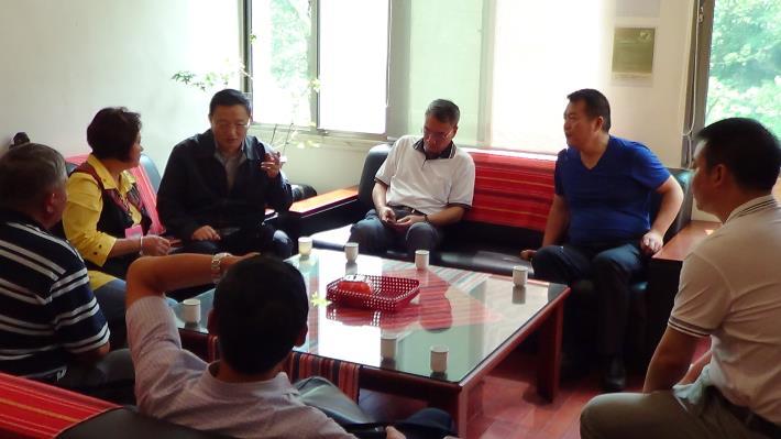 大陸貴州省人大常委會劉秘書長一行九人赴台考察蒞鄉指導